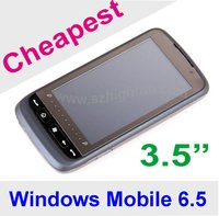 "Cheapest 3.5"" 3.5 inch Windows Mobile 6.5 Mobile Phone"