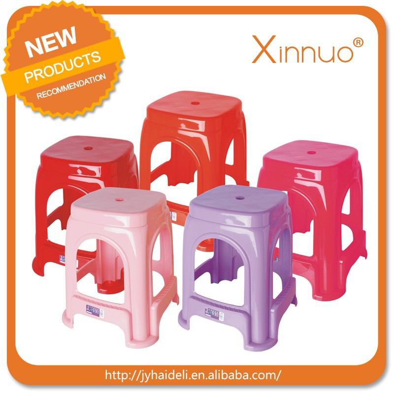 Hot Sale Eco-friendly quality Popular Plastic Stool plastic chair Stacking