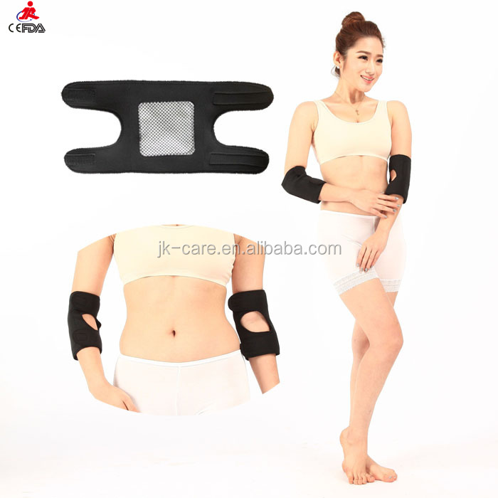 magnetic therapy tourmaline self-heating arm elbow support / elbow sleeve / belt neoprene sport volleyball elbow pads