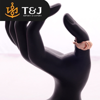 Cheap wholesale new design ladies' finger gold ring fancy engagement ring