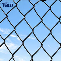 Best price galvanized steel pipe chain link used chain link fence for sale factory