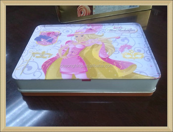 2015 Beautiful rectangular tin box ii