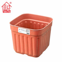 PP Plastic Type Square Garden Planter For The Garden Roof Green Place Planting