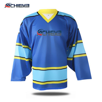 2017 custom made ice hockey jerseys/ reversible hockey sweaters