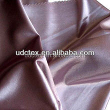 Polyester /cotton flannel back satin fabric
