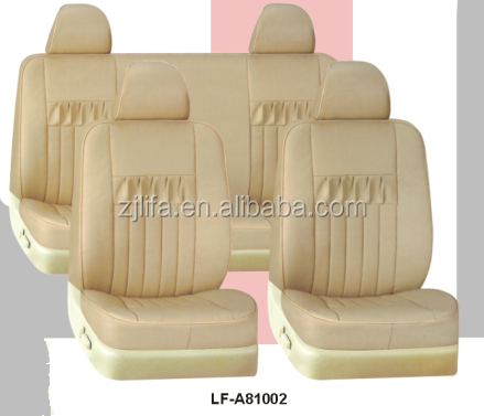 fashion design car seat cover,PVC leather car seat cover
