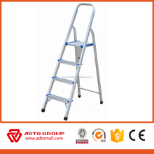 4 step aluminium ladder,home purpose ladder,step ladder aluminium