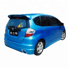 CZJ FOR HONDA FIT JAZZ 2009 CAR REAR SPOILER