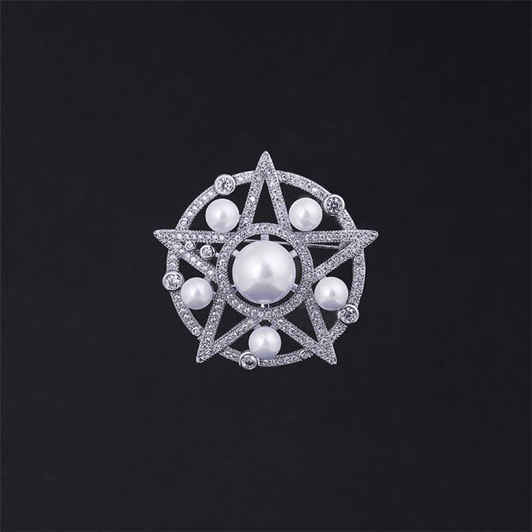 Wholesale attractive style exquisite rhinestone women jewelry brooch