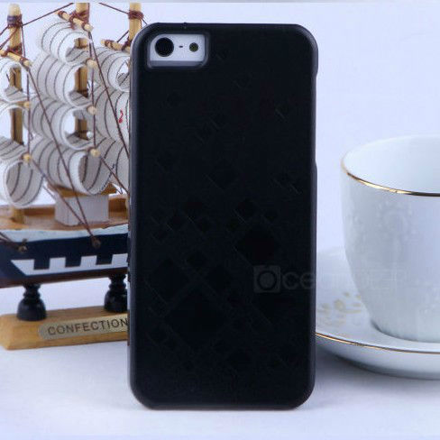 IMD guangzhou PU leather PC hard cover case for iphone 5s housing