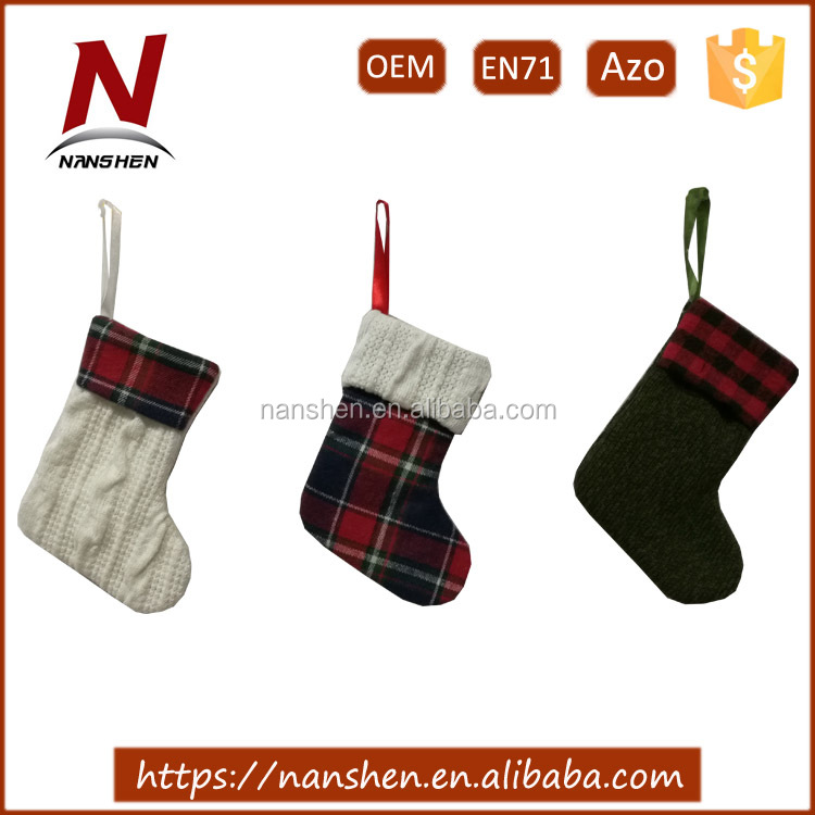 cute christmas sock wholesale mini christmas stockings