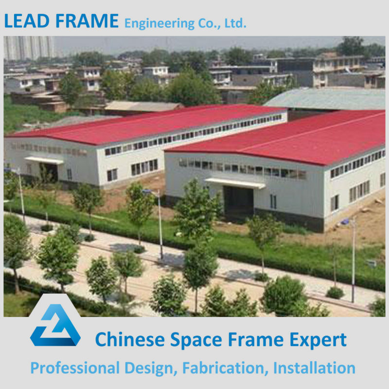 Steel building frames prefabricated industrial shed