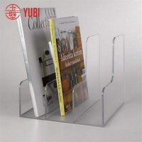 Design new arrival acrylic table display file stand racks