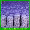 HDPE round wire mesh bag for garlic packing