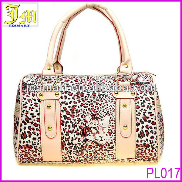 Made in China 2014 Fashion Women's Leopard Handbag Wholesale