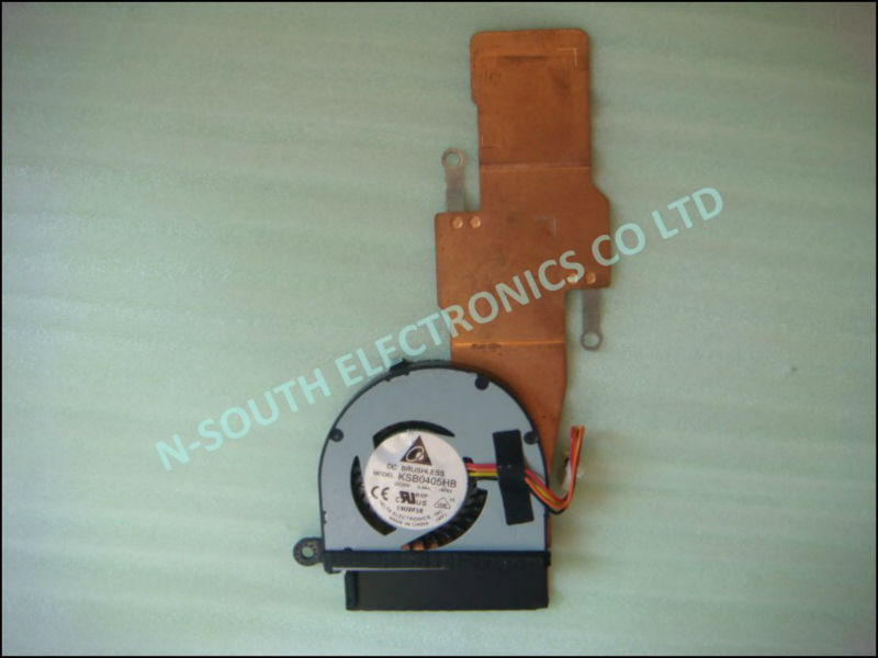 Low price cooling fan for asus eee pc 1015px with heatsink 13goa331am010