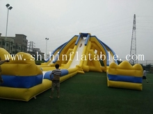 high quality giant inflatable trippo water slide for adult