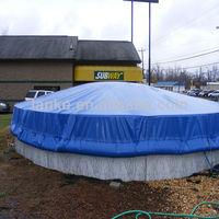 outdoor fiberglass mini pool spa cover