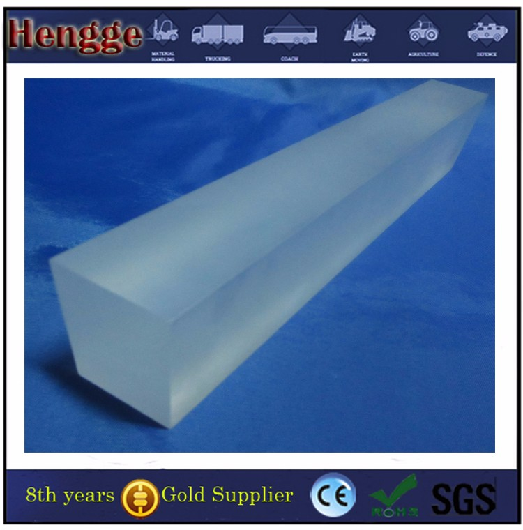 SGS standrad PMMA plastic material cast colored acrylic rod for decoration