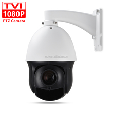 "CCTV Security IP66 Outdoor 4"" MINI Speed Dome TVI 1080P PTZ Camera 2MP 20X Zoom Auto Focus IR 100M Coaxial PTZ Control"