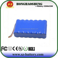 Rechargeable 12v 20Ah DC Battery Pack for Christmas Lights