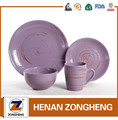 16pcs ceramic dinner sets western dinnerware sets with silk screening