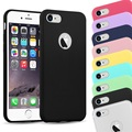 For iPhone 7 Soft Back Cover Candy Colorful TPU Silicone Case