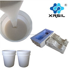 Platinum silicone rubber for casting molding