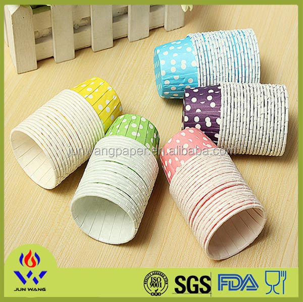 PE coated souffle cup good quality plastic cupcake cup