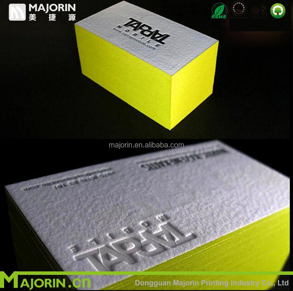 OEM customized premium business cards from printing factory