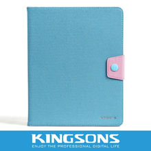 Wholesale leather case for ipad 2 ipad 3 ipad 4