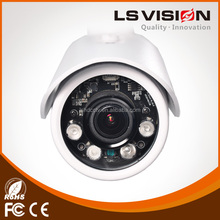 LS VISION 2.7-12mm motorized lens network security 2.0mp cmos hd 1080p wdr water-proof ir ip camera with viewerframe mode