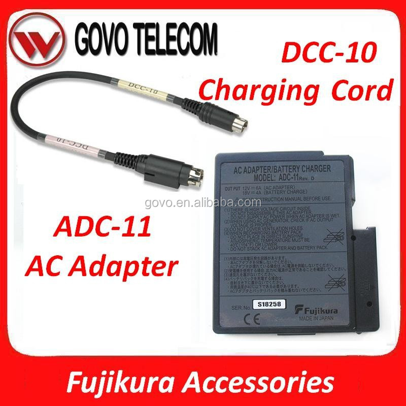 Fiber Accessories charging cord DCC-10/DCC-14/DCC-18 AC Adapter ADC-11/ADC-13/ADC-18