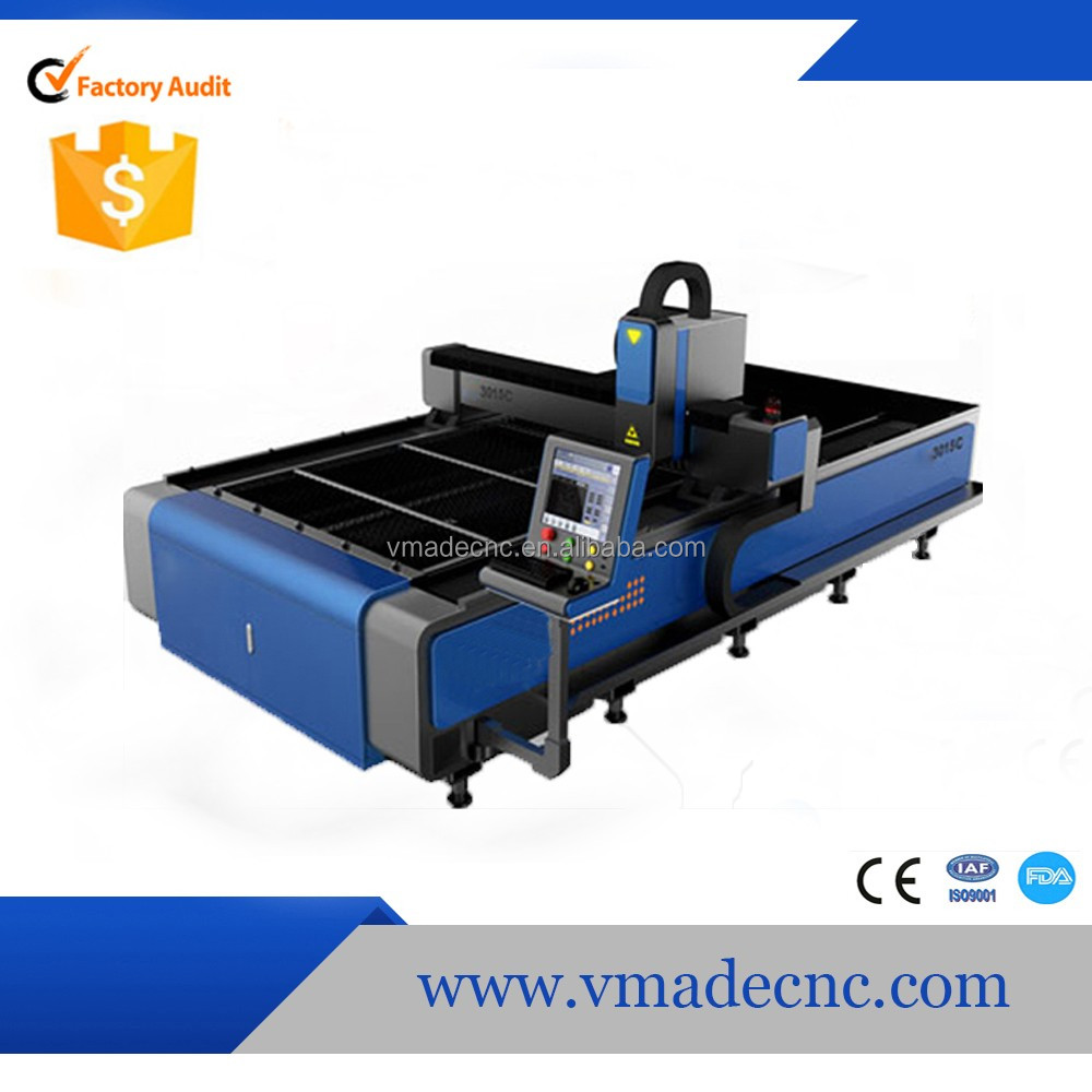 1530 VMADE Factory direct sale fiber laser cutting machine price 2000w with great
