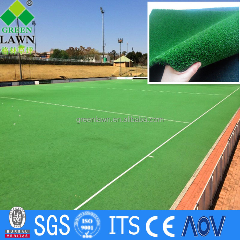Multi-function sports high density artificial grass cricket mats for basketball /tennis court decor