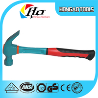 Hand Tool of high hardness octagon hammer with fiber glass handle