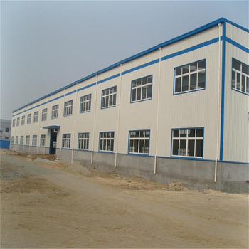 Prefabricated Design steel structure workshop