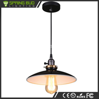 Nordic Style UFO shaped vintage white black red optional loft ceiling suspension light