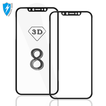 High Clear 0.33mm 9H tempered glass for iphone 8 screen protector