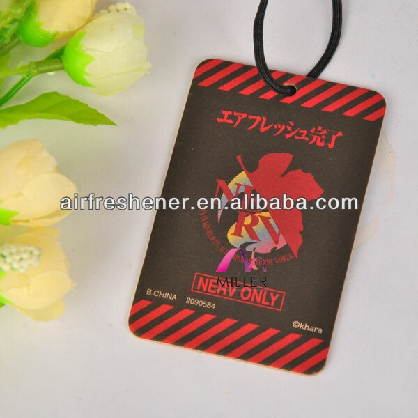 New Product Interior Decorational Hangig Coffee Scented Air Freshener