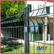 MT 75*150mm decorative metal/PVC garden fence