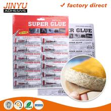 Cheap price Excellent initial grab rill super glue 3g