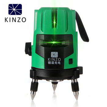 kinzo Layout Tools Optical Instrument Modular Laser Level 4V1h Green beam