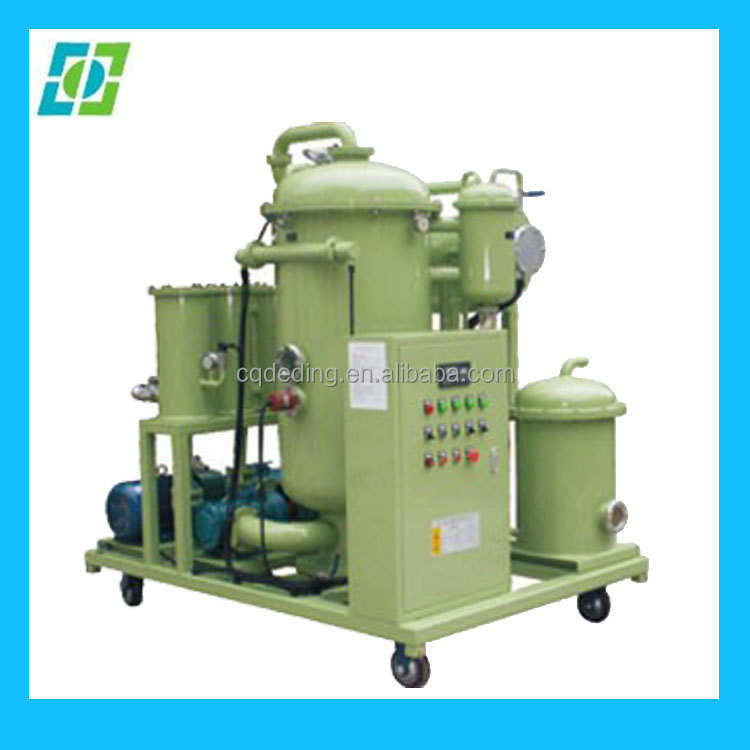 Insulation Oil Cleaning Machine, Used Lube Oil Disposing Machine, Waste Oil Solution