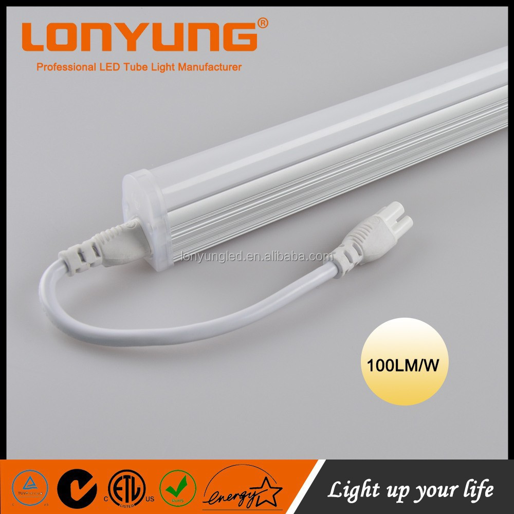 Patent T5 led plug and play 4ft led tube lights