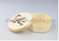 Round Small Wooden Boxes Wholesale, Round Wooden Boxes for Food