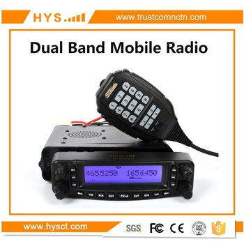 HYS Professional VHF UHF Dual Band FM Mobile Radio Transceiver