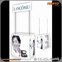 Personalized Free Design Advertising Counter Top Plastic Display Case