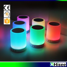 Facotry price color changing portable bluetooth speaker with led lights