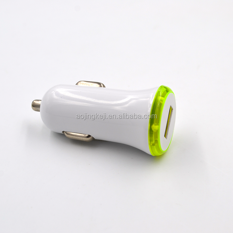 Best Metal Dual USB Port Car Charger Universal 12 Volt / 2.1-3.1 Amp for Apple iPhone iPad iPod / Samsung Galaxy